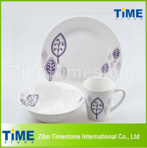 12PCS Country Style Porcelain China Dinnerware pictures & photos
