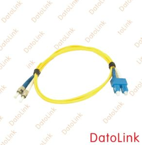 Fiber Optic ST-SC SM Duplex Patch Cord/ Jumpers pictures & photos