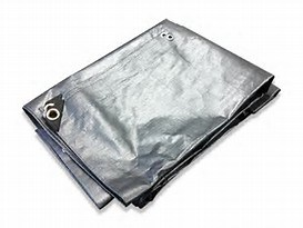 Reinforced Plastic Tarpaulin (SHEETS 4X 5M) pictures & photos