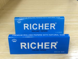 Fine Quality Kingsize Rolling Paper, Rice Paper, Hemp Paper pictures & photos