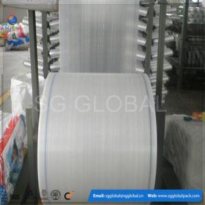 Woven Polypropylene Raffia Circular Fabric in Roll pictures & photos