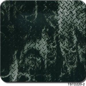 Tsautop Tstd220-2 1m Width Carbon Design Aqua Print Hydrographic Film pictures & photos