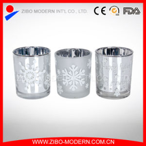 High Quality Wholesale Mercury Glass Candle Holders pictures & photos