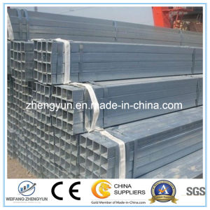 Hot Dipped Galvanized Square or Round Steel Tube pictures & photos