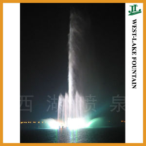 138m Central High Jet Music Dancing Lake Fountain pictures & photos