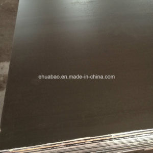 Black/Brown/Anti-Slip Film Faced Plywood /Marine Plywood for Construction (HB002) pictures & photos