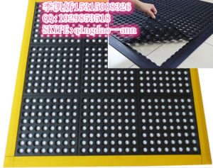 Interlocking Anti-Fatigue Drainage Rubber Floor Mat for Kitchens&Bathroom pictures & photos