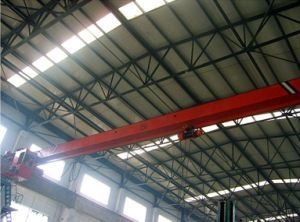 Single Girder Traveling Bridge Hoist Cranes with SGS pictures & photos