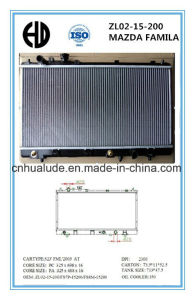 High Quality Aluminum Brazed Welding Car Radiators for Mazda Oe: Zl02-15-200 pictures & photos