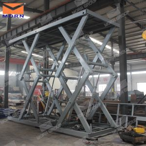Twin Scissor Lift Table for Sale pictures & photos