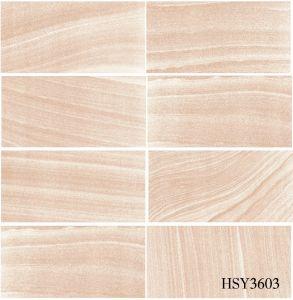 Veins Sandstone/Brocatello Stone Anti-Slip R11 Full Body Rustic Porcelain Tile pictures & photos