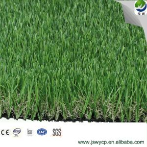 Natural Cheap Four Tone Leisure Artificial Turf Grass for Garden Wy-08