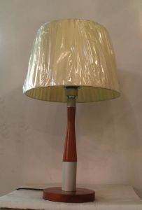 Table Lamp with Fabric Shade pictures & photos
