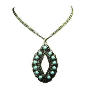 Turquoise Pendant Fashion Jewelry Necklace