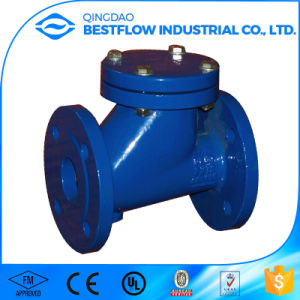 Ductile Iron Cast Iron Flanged Swing Check Valve pictures & photos