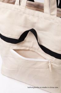 Cotton Canvas Reusable Handbags for Shopping pictures & photos