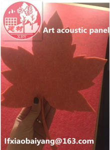 Wall Panel Decoration Acoustic Panel Soundproofing Polyester Fiber Panel Ceiling Panel Decoration Board pictures & photos