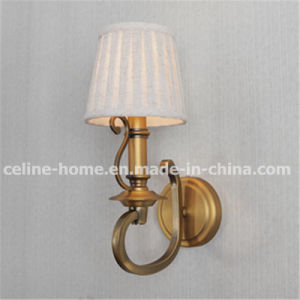 Iron Wall Lamp with Crystal Decoration (C002-1W) pictures & photos