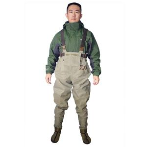 Nylon Waterproof Windproof Wader Fishing Water Pants Chest Wader