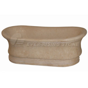 Egyption Beige Marble Bathtub