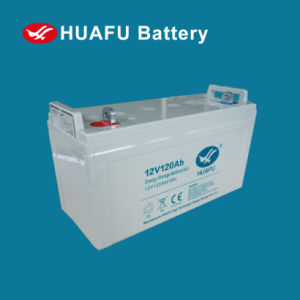 UPS Battery 12V 120ah Maintenance Free Battery Solar Battery pictures & photos
