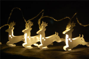 Light Chain Decoration Light with LED (metal deer) pictures & photos
