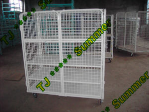 EU Standard Warehouse Storage Cage pictures & photos