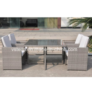 Outsunny 5-Piece Outdoor PE Rattan Wicker Nesting Outdoor Sofa pictures & photos