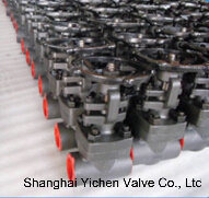 Forged Steel Solid Wedge Gate Valve pictures & photos