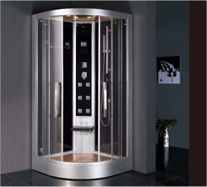 2016 New Style Luxury Steam Shower Enclosure with Tempered Glass and Computer Control Panel Asts1063 pictures & photos