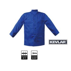 Flame Resistant Canvas Welding Jacket / Kevlar Stitched (80-JFR)