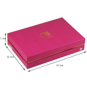 Logo Gold Hot Stamped Paper Hair Extension Box pictures & photos