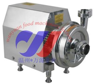 Sanitary Stainless Steel Centrifugal Pump for Milk, Juice pictures & photos