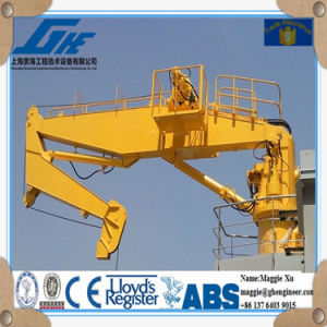 20tons 15m Hydraulic Knuckle Boom Marine Crane pictures & photos
