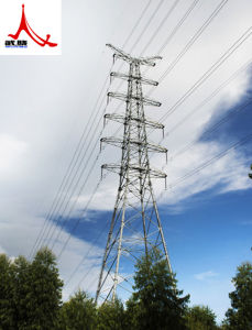 Angle Single Circuit Power Transmision Steel Tower pictures & photos