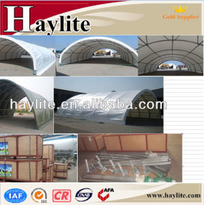 Wholesale Galvanised Steel Frame Container Tent pictures & photos
