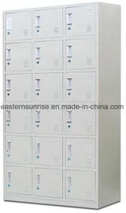Low Price Strong 18 Door Metal Steel Storage Locker pictures & photos