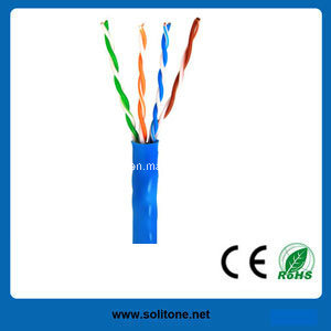 CAT6 UTP/FTP/SFTP Solid Cable/LAN Cable/Network Cable pictures & photos
