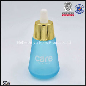 30ml 50ml 30g Frosted Glass Jar Travel Cosmetic Bottle Set Dropper Bottle pictures & photos