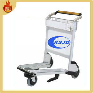 Handle Aluminum Alloy Luggage Airport Trolley with Brake (LX2) pictures & photos