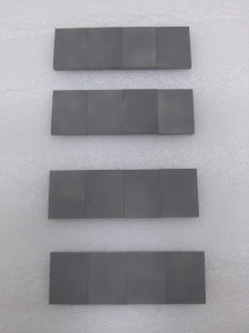 Tungsten Carbide Wear Resistant Tips K10 pictures & photos