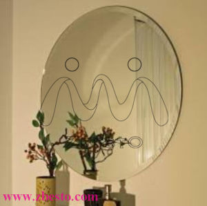 Clear and Colored Bevelled Silver Aluminum Mirror Panels pictures & photos
