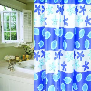 PEVA Shower Curtain, Nylon Shower Curtain, Nylon Bath Curtain, Nylon Bathroom Curtain pictures & photos
