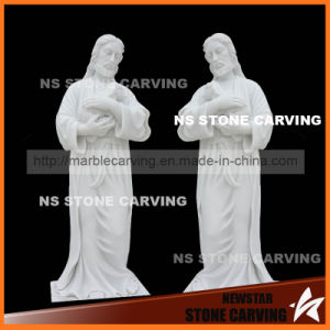 Natural Stone Carving Sculpture Jesus Statues Shepherd pictures & photos