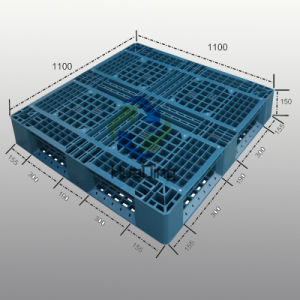 1100*1100 Environmentally Friendly Rack Plastic Pallet From China pictures & photos
