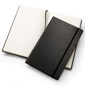 2016 High Quality Black Leather Notebook pictures & photos