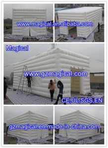 White Inflatable Air Cube Tent for Party (MIC-634) pictures & photos