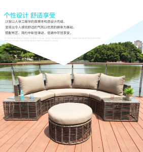 Classic Hand Woven Rattan Sofa pictures & photos
