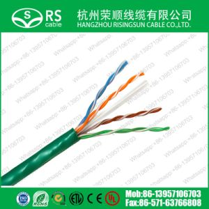 UTP CAT6A with 0.57mm 23AWG Copper Ethernet Cable