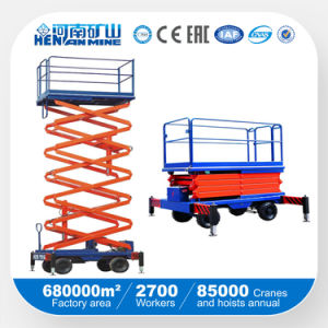 Mobile Type Hydraulic Lifting Table Platform (SJY) pictures & photos